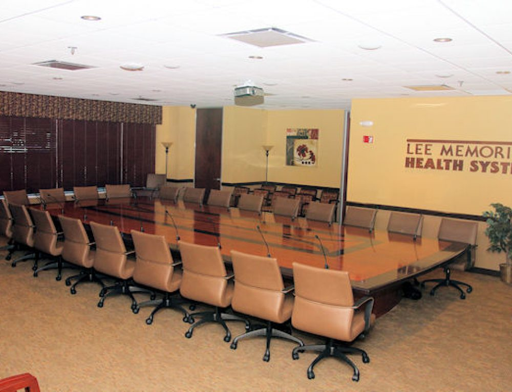 The Board Room at Gulf Coast Medical Center